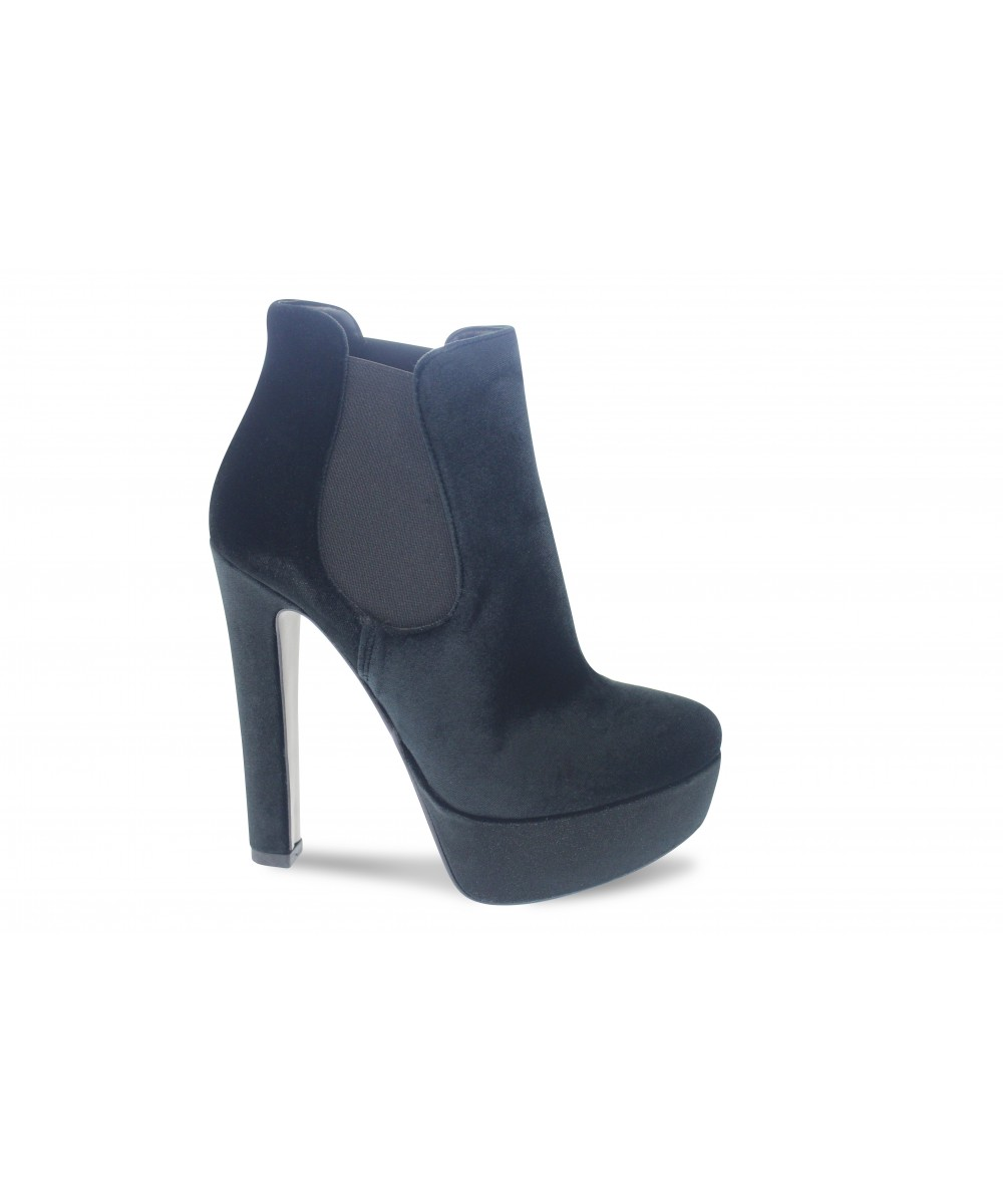 boots elastique femme talon boots talon noir femme cuir wwweram. Black Bedroom Furniture Sets. Home Design Ideas