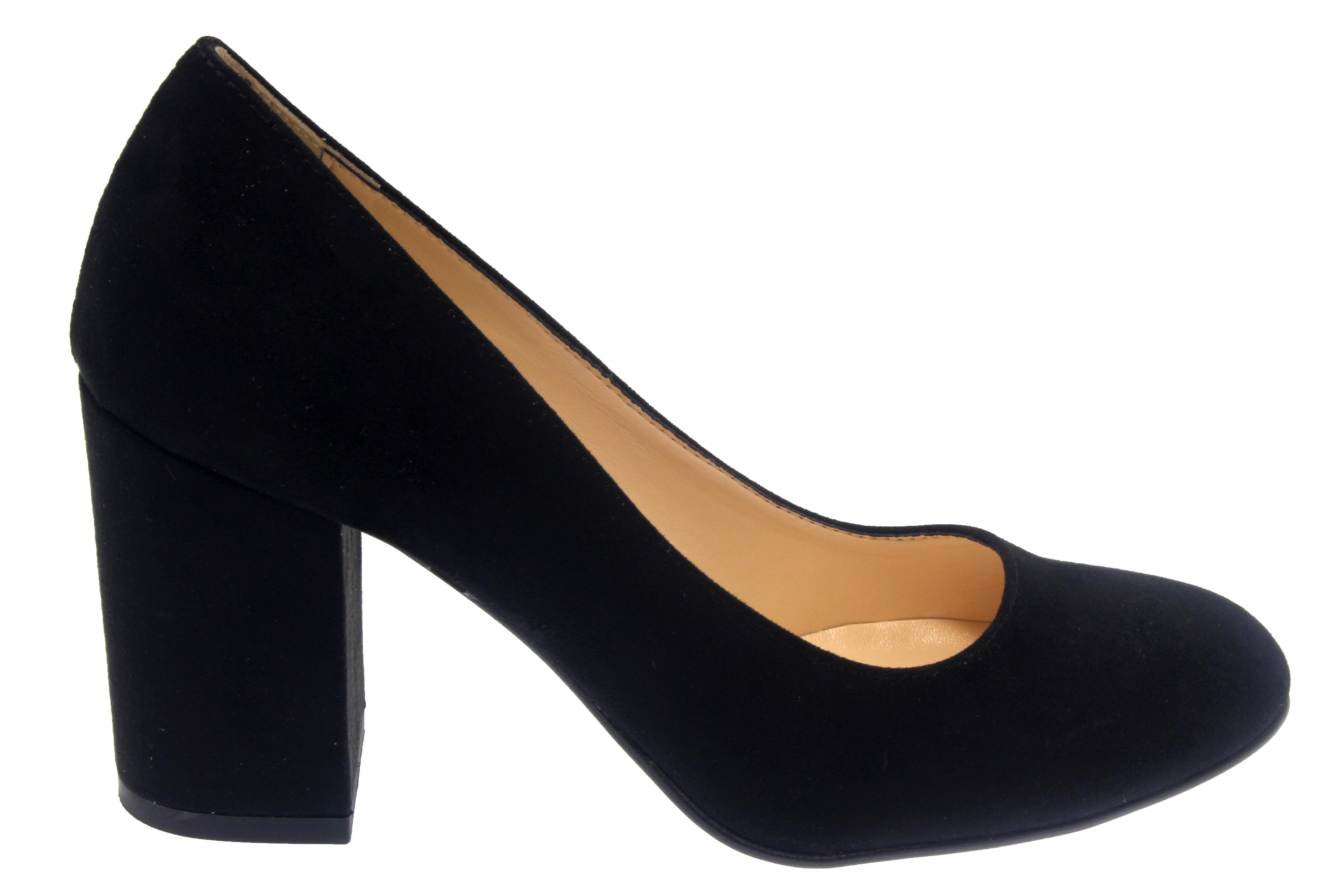 talon carre chaussure