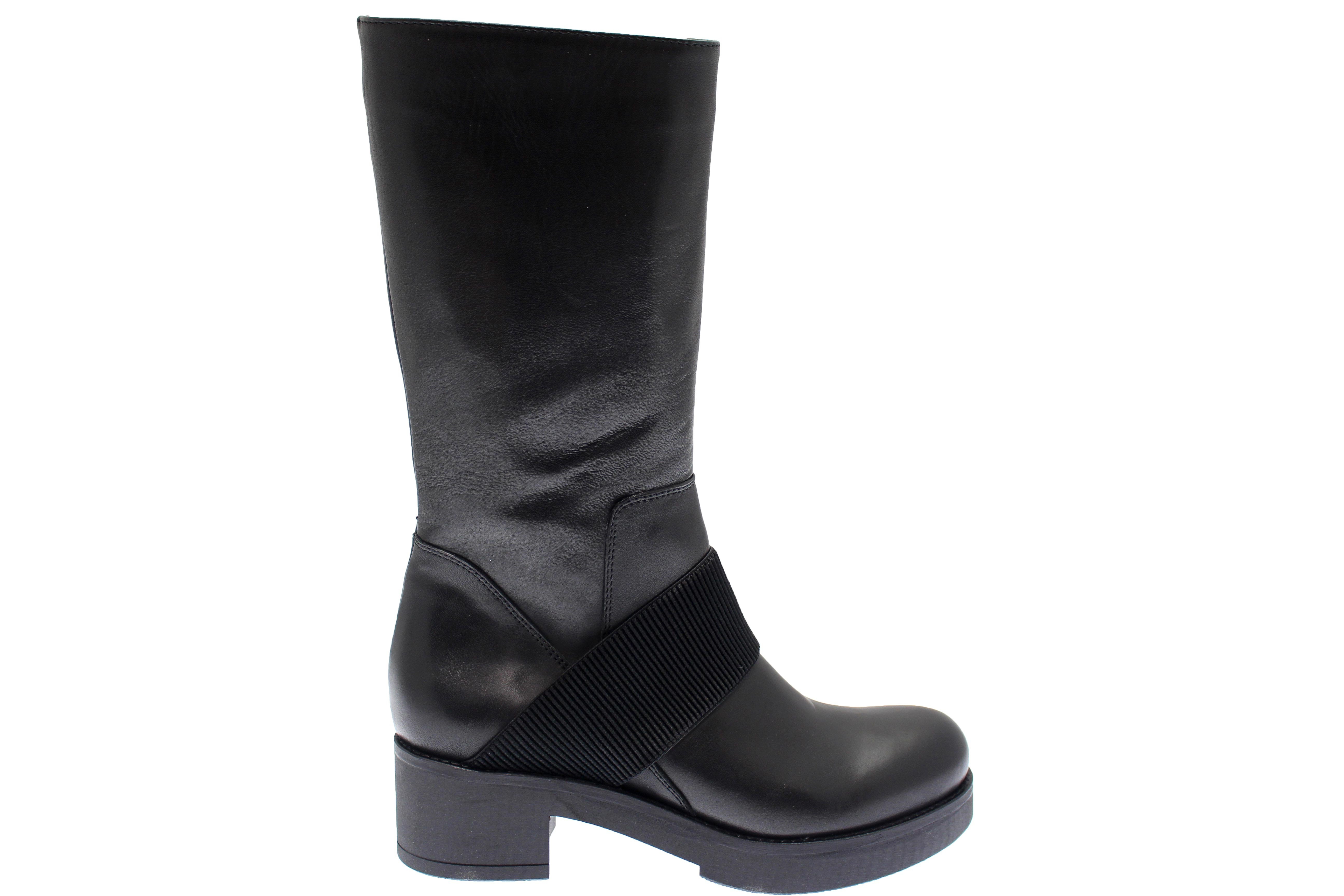 bottine à tige haute & bande élastique osmose shoes paris à prix doux