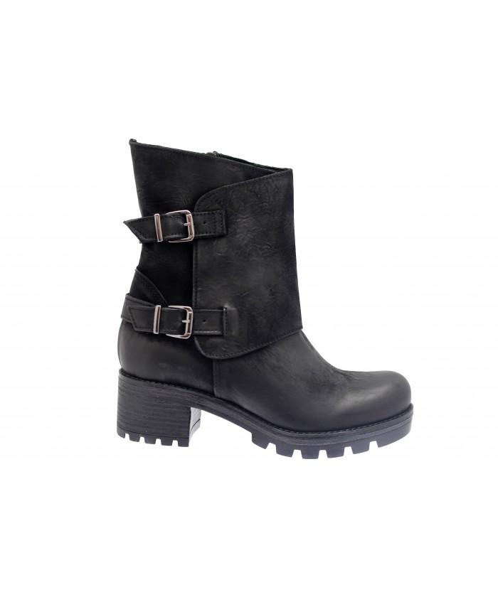 Boots Jess : Nabuck Noir