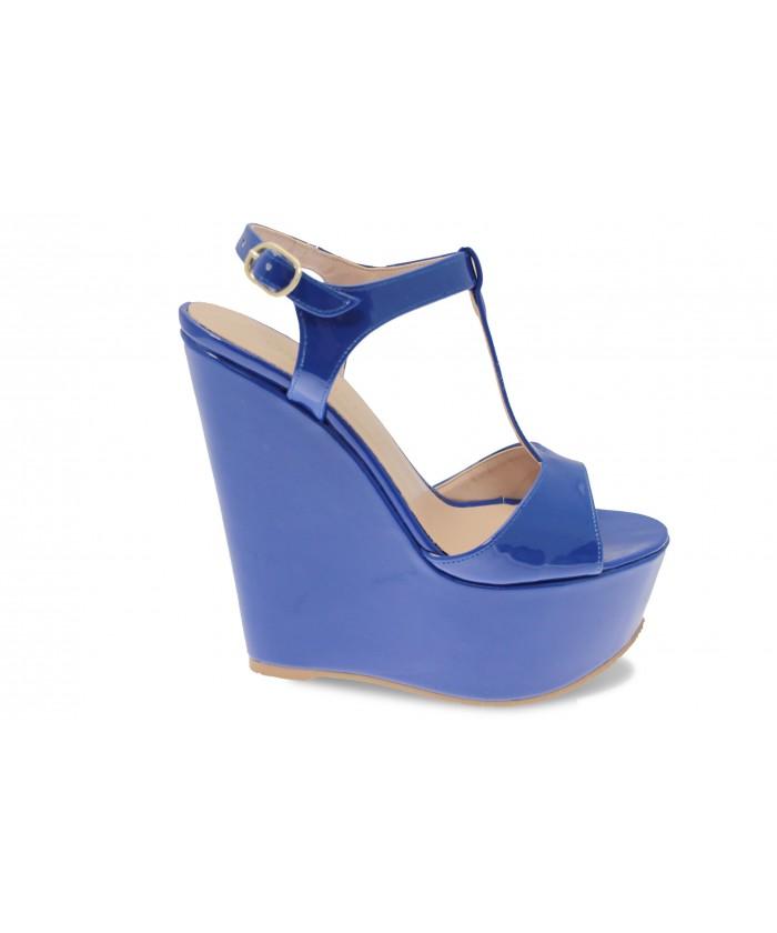 Compensée Mimi : Verni Bleu