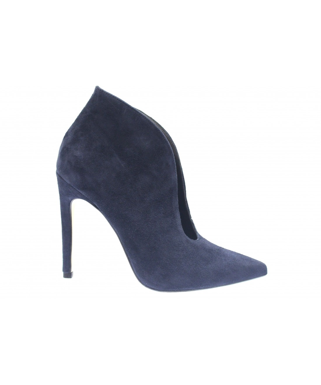 magasin design distinctif boutique pour officiel L'escarpin bottine femme OSMOSE shoes daim bleu marine à ...