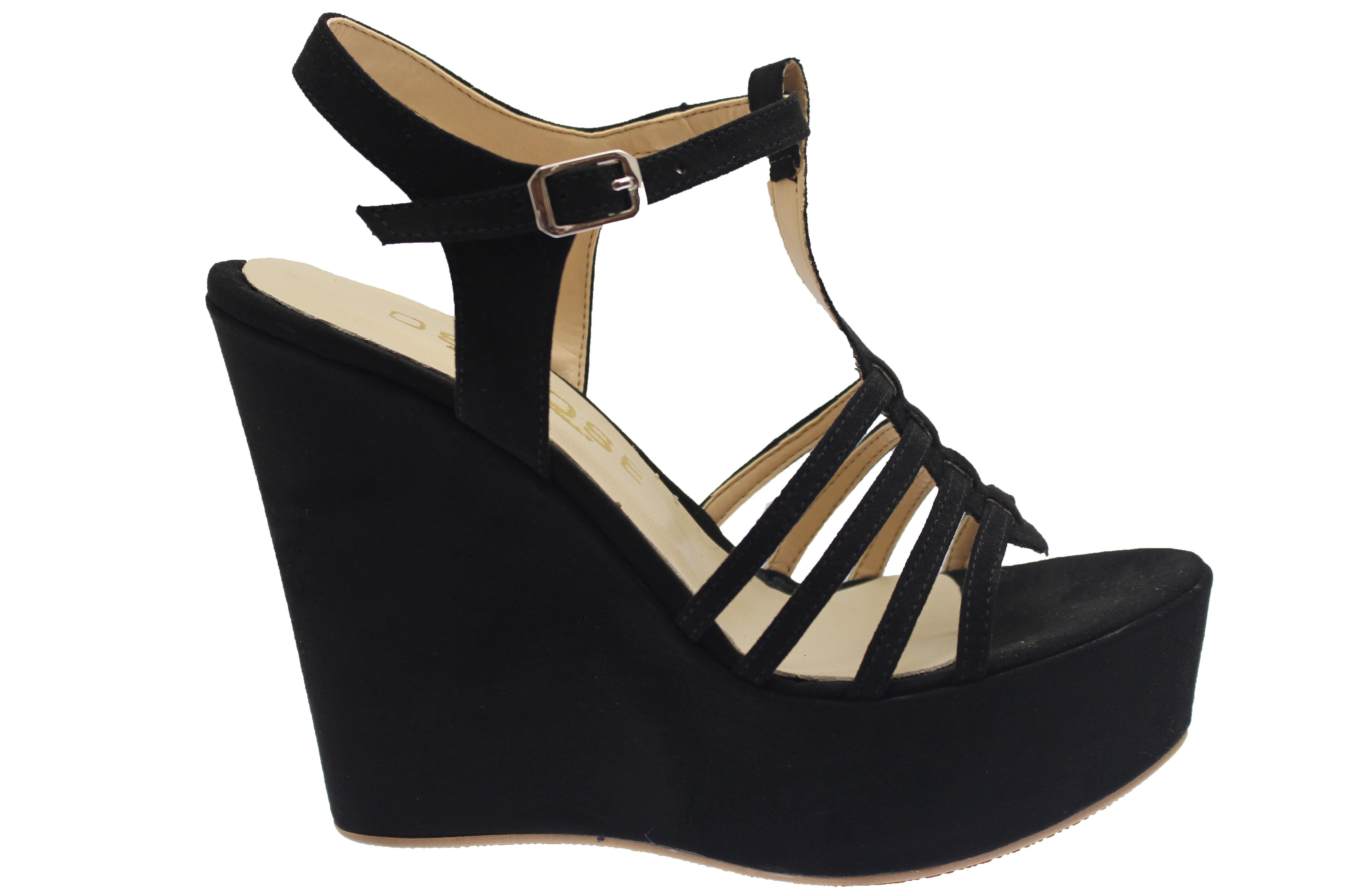 Shoes Prix Osmose À Urban Doux En Noir Multibride Compensée Chic Daim WxBeQdCroE