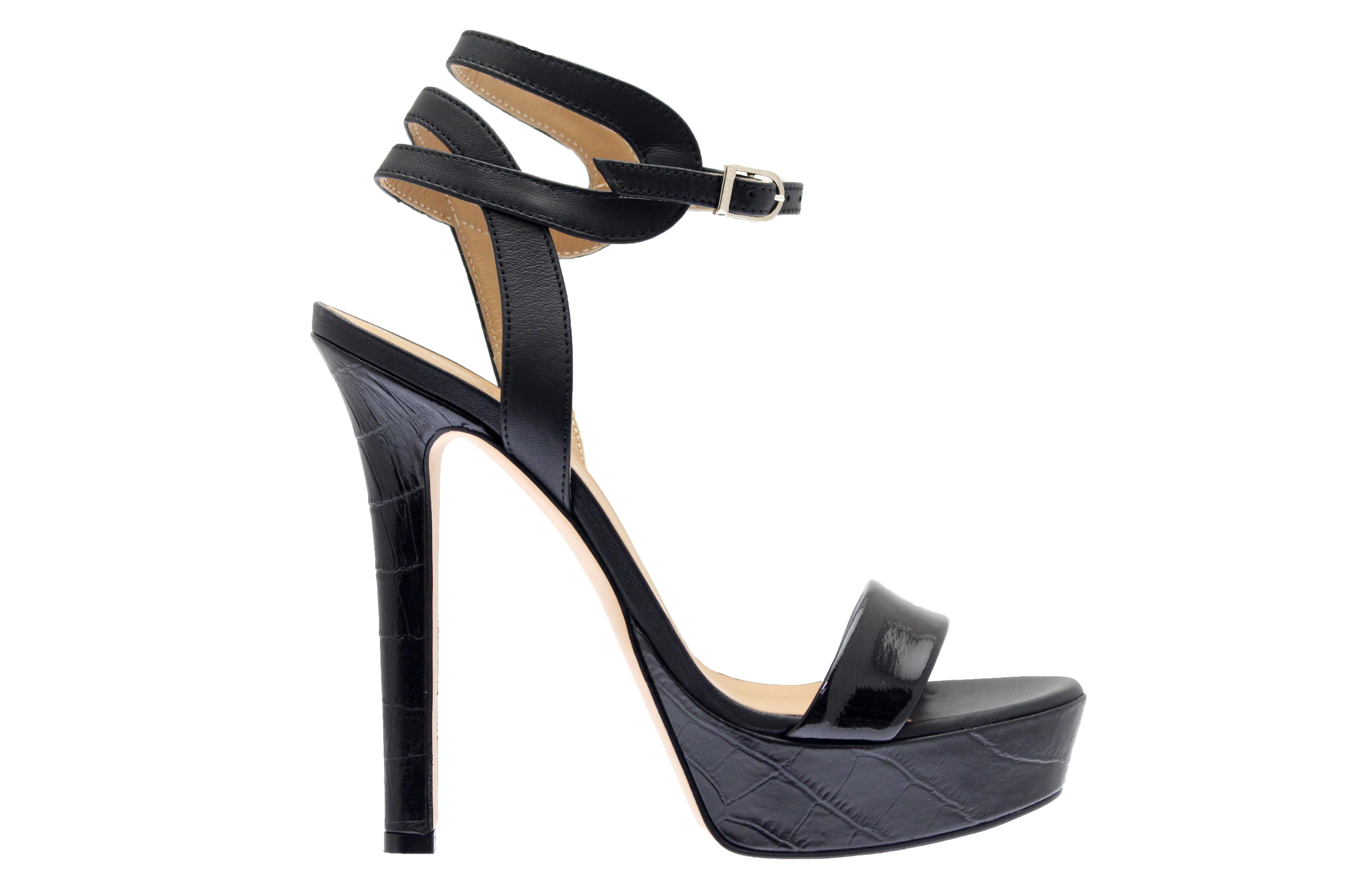 84715321aaa414 Sublime ligne de sandale à talon haut couture femme OSMOSE Shoes Paris