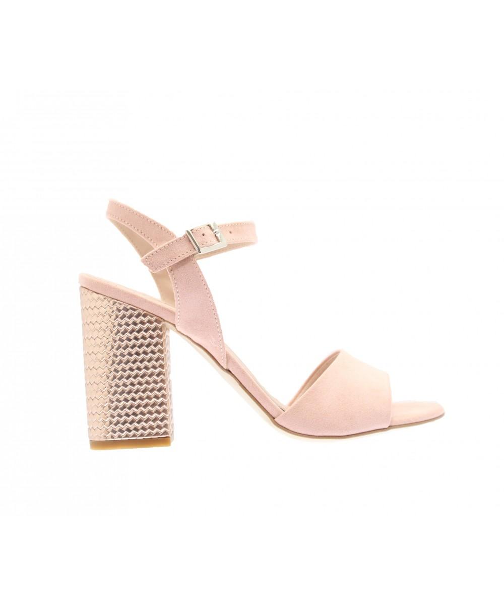 high fashion sneakers for cheap sleek Nouvelle ligne de sandale à talon carrée effet miroir OSMOSE Shoes