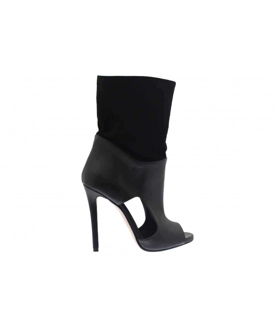 nouvelle dition black panther bottine talon couture. Black Bedroom Furniture Sets. Home Design Ideas