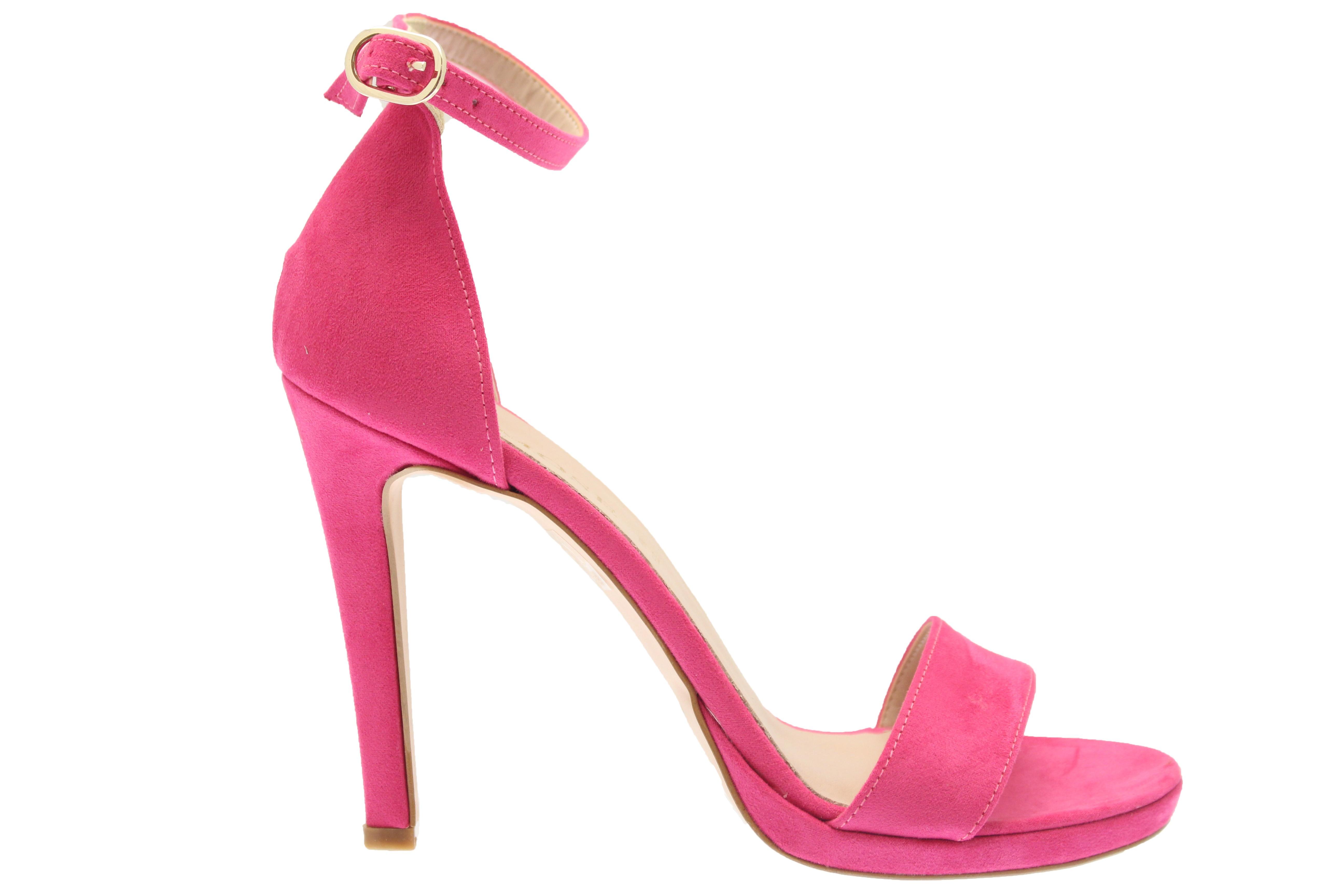 507392c2115f Du fushia à vos pieds en OSMOSE shoes pris: sandale effet daim talon