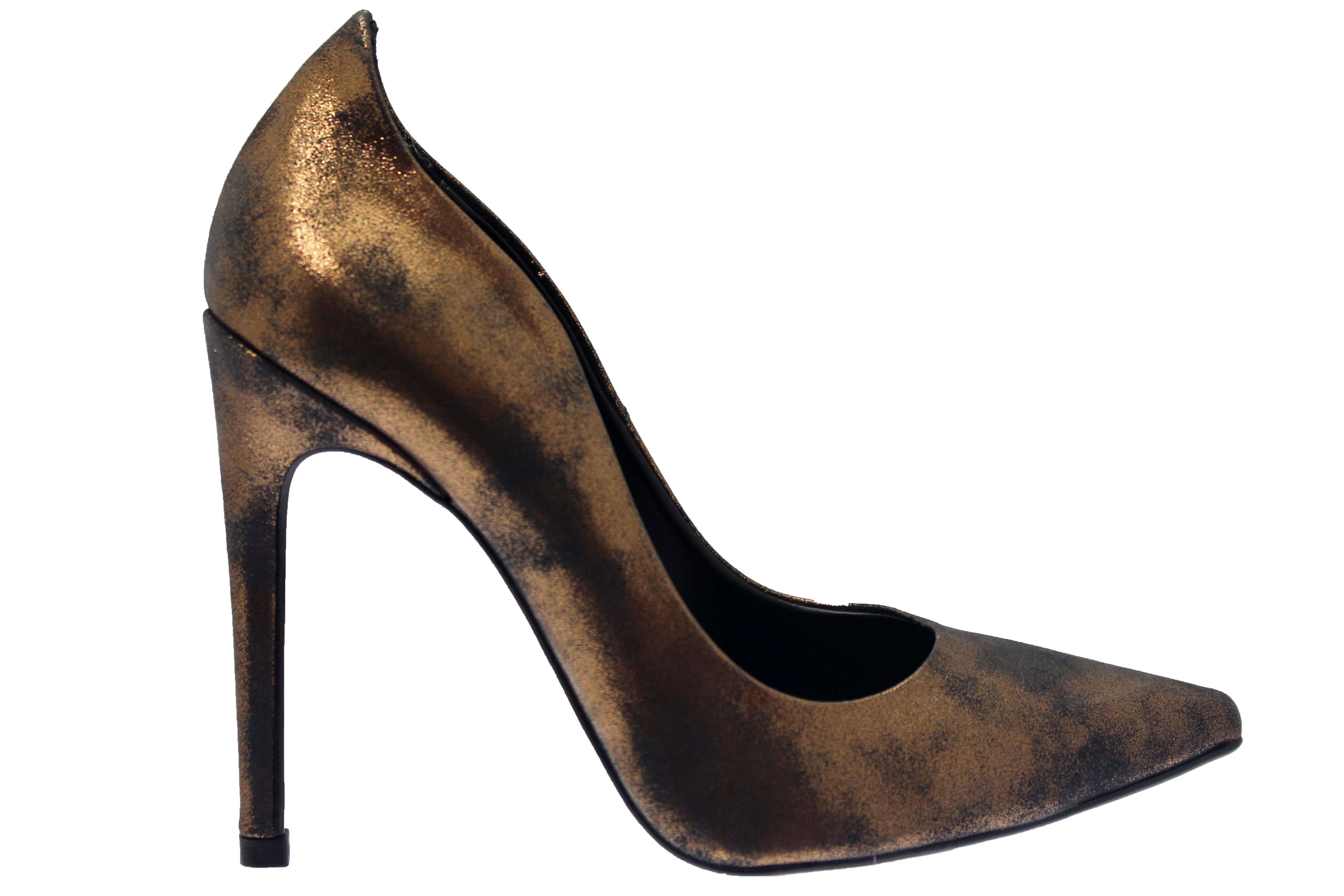 magasin en ligne cdc87 84456 De l'éclat à vos pieds sur l'escarpin bronze OSMOSE à vague ...