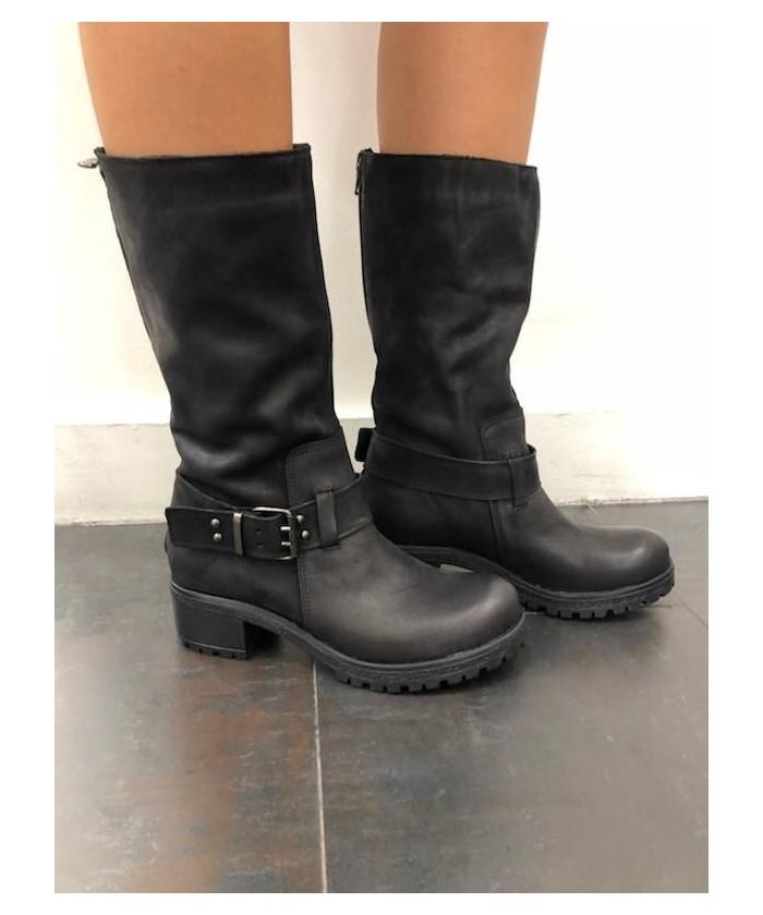 Boots Jena: Nabuck Noir