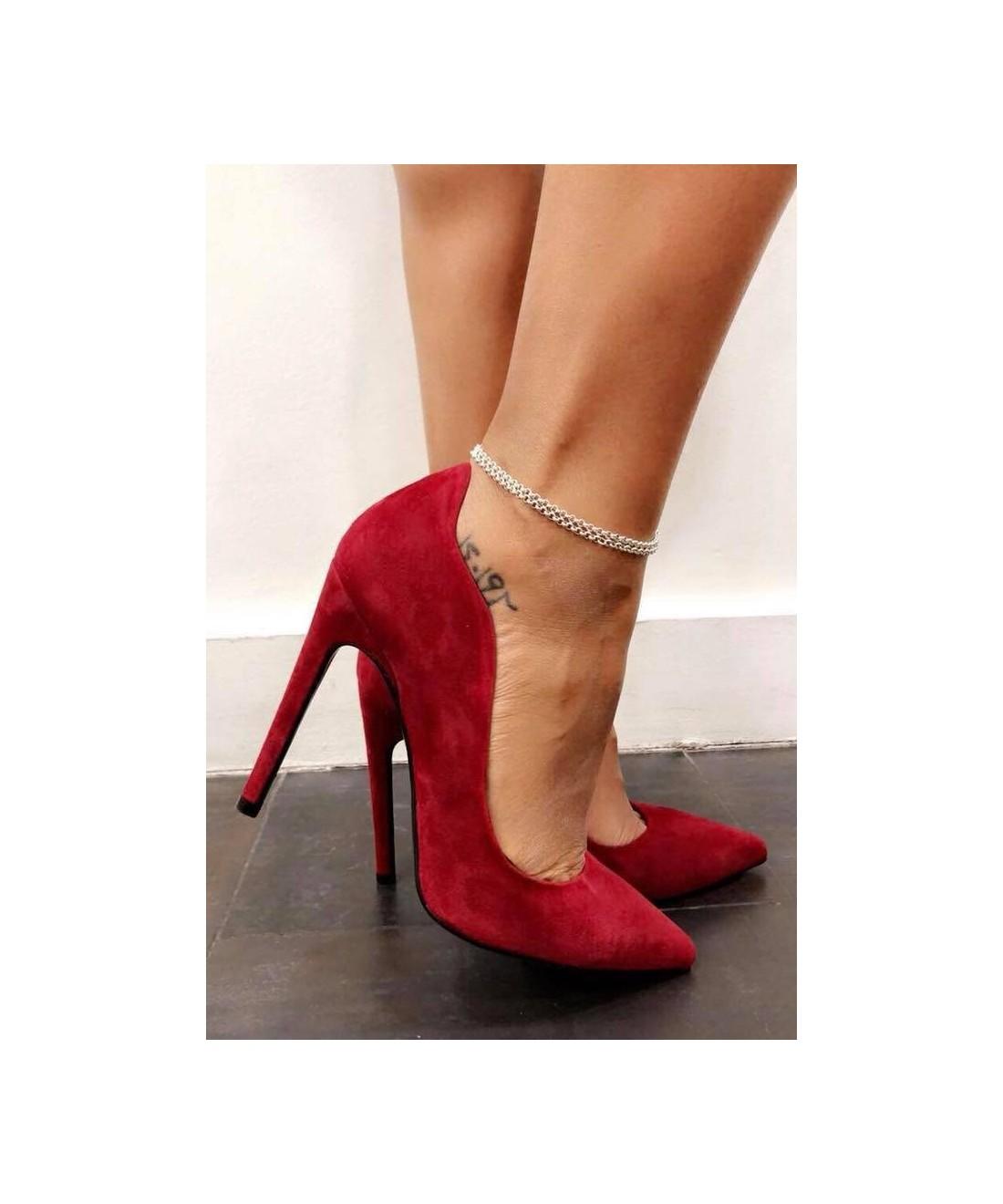 6d96c833a303 Votre vague de séduction en OSMOSE Shoes Paris  Escarpin Femme rouge