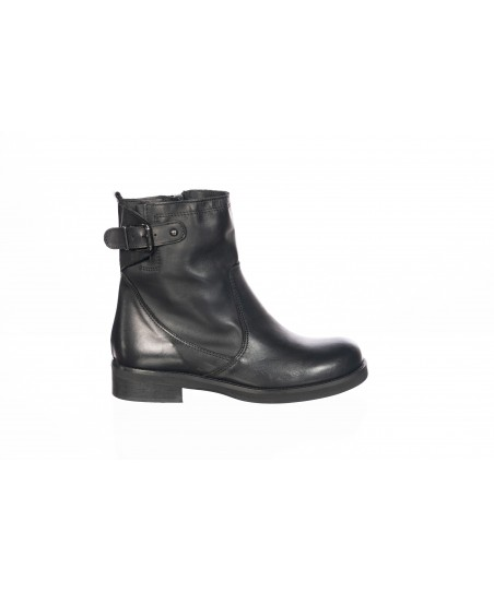 Line Bottine : Cuir Noir