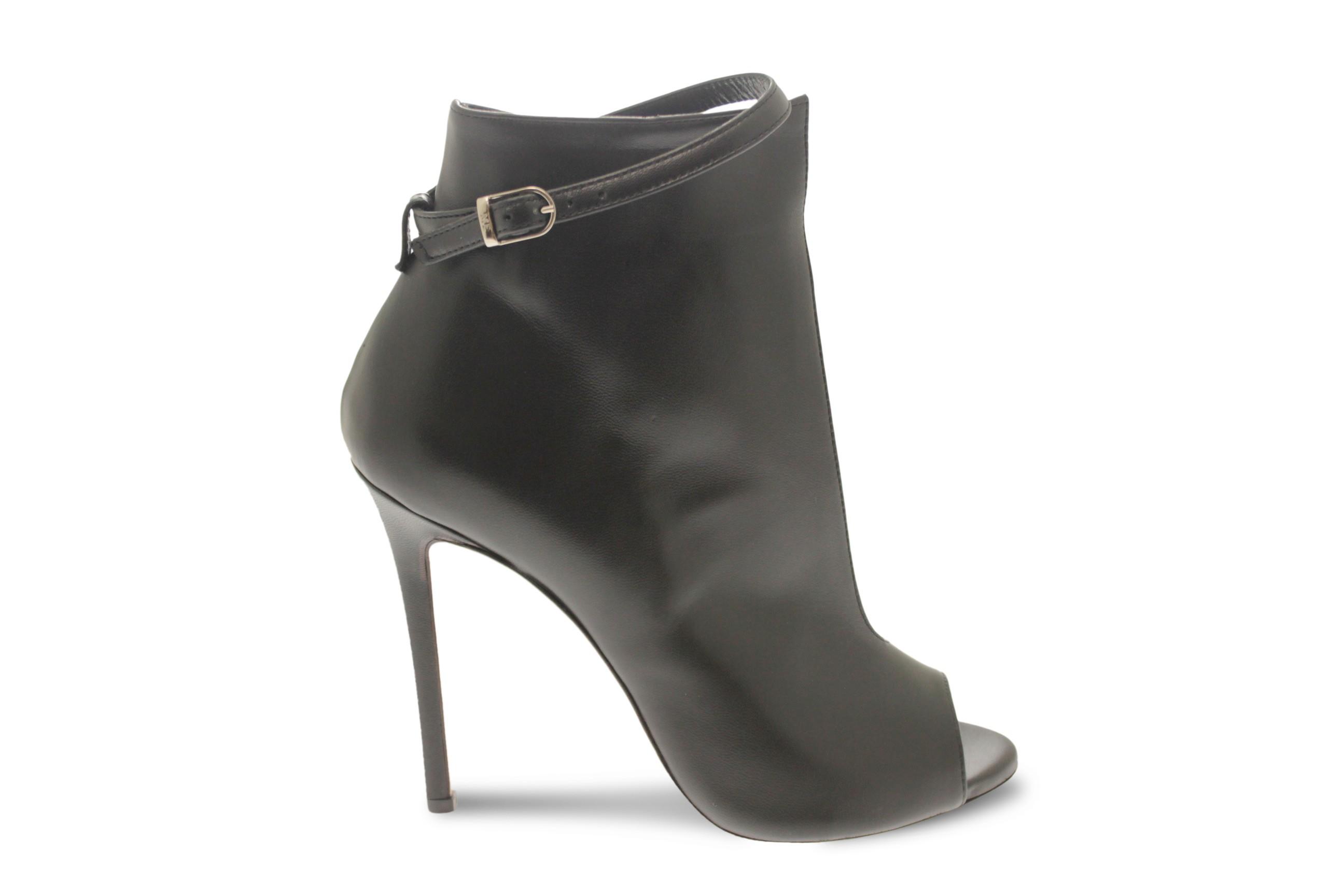 Modernecouturesublime cuir femme noir été bottine f7Ibv6gyY
