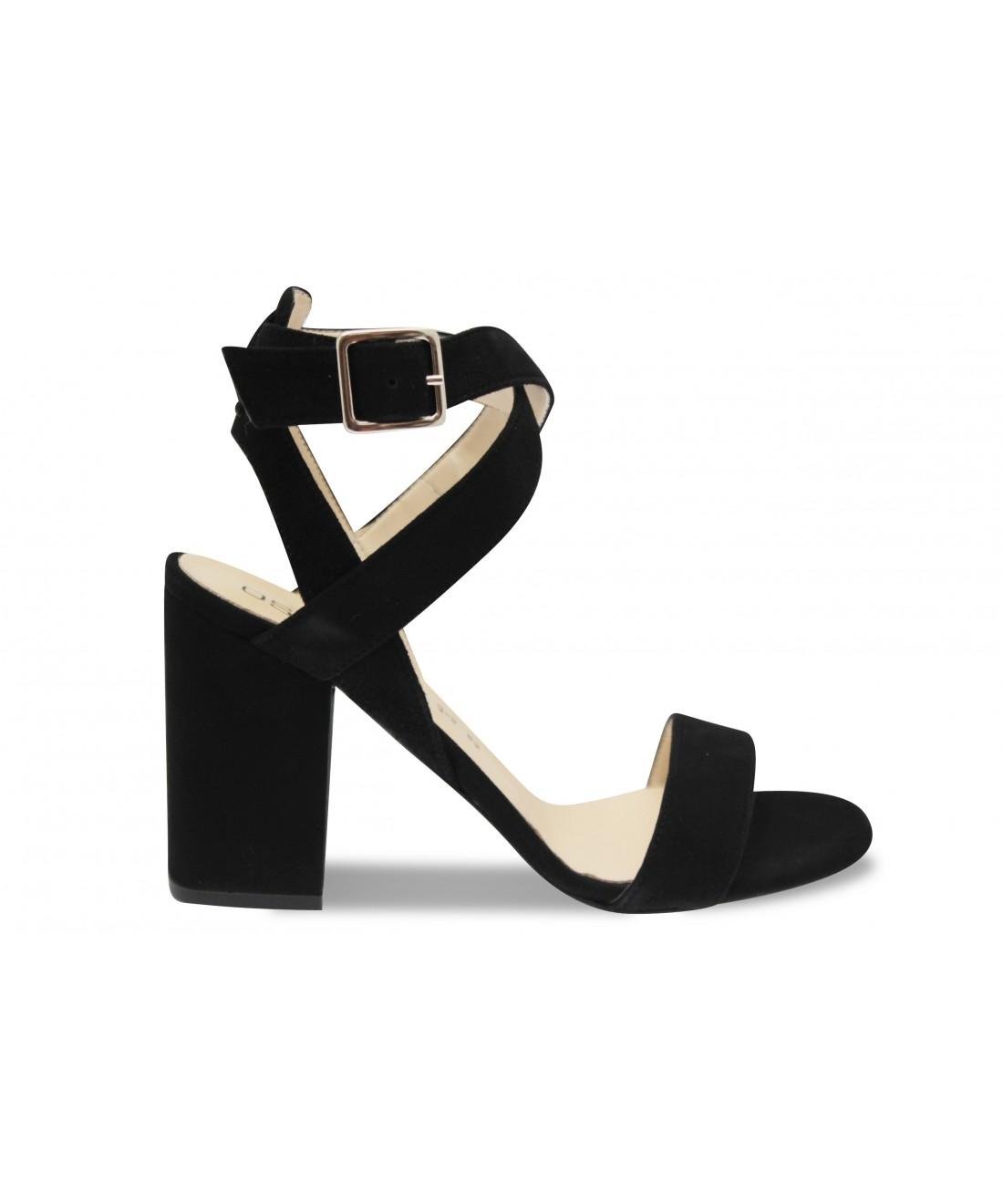 En Talon Carré Signée Shoes Tendance Femme À Bride Osmose Sandale TFlcK1J3