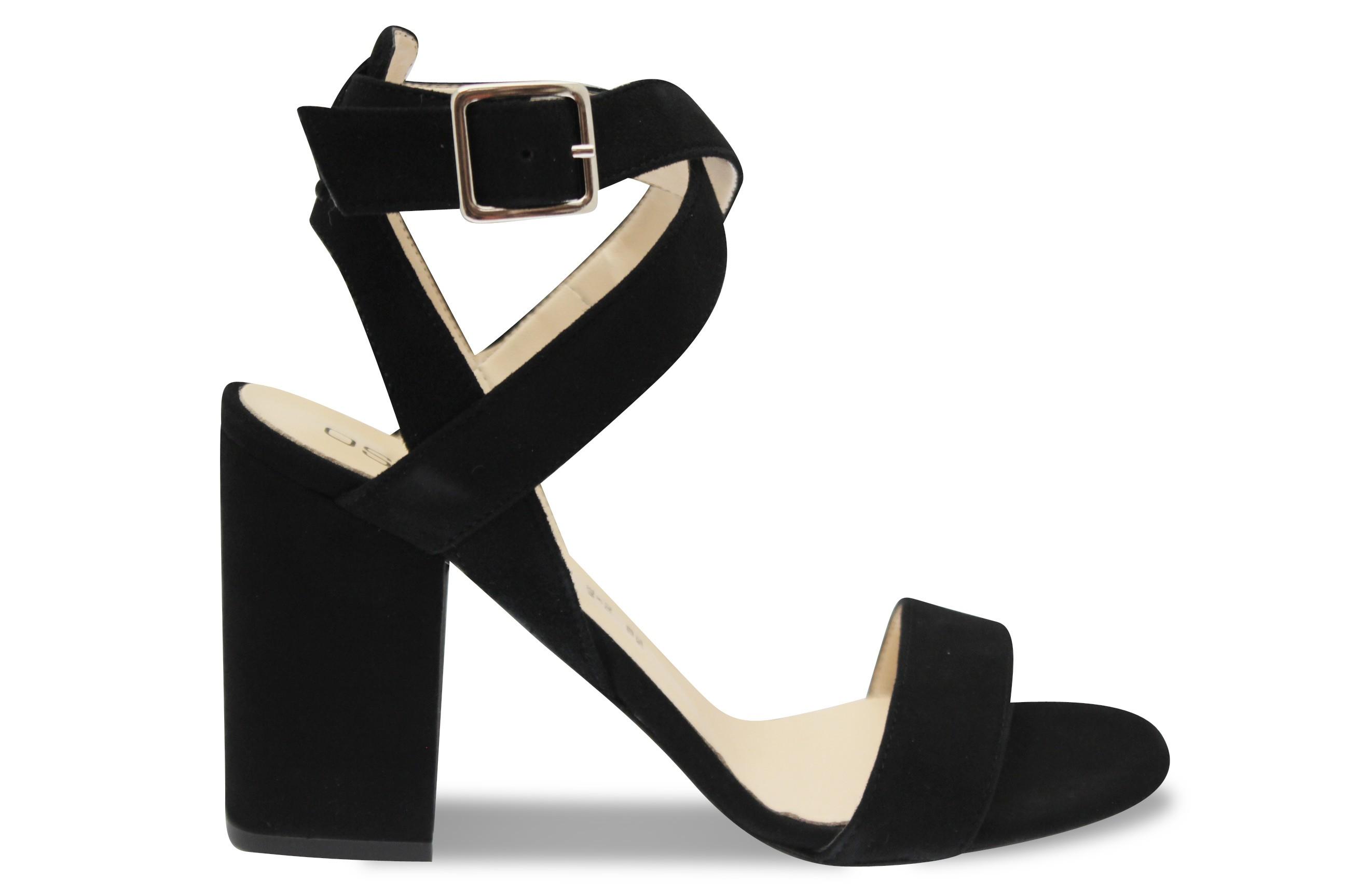 Tendance à talon carré signée OSMOSE Shoes en sandale femme