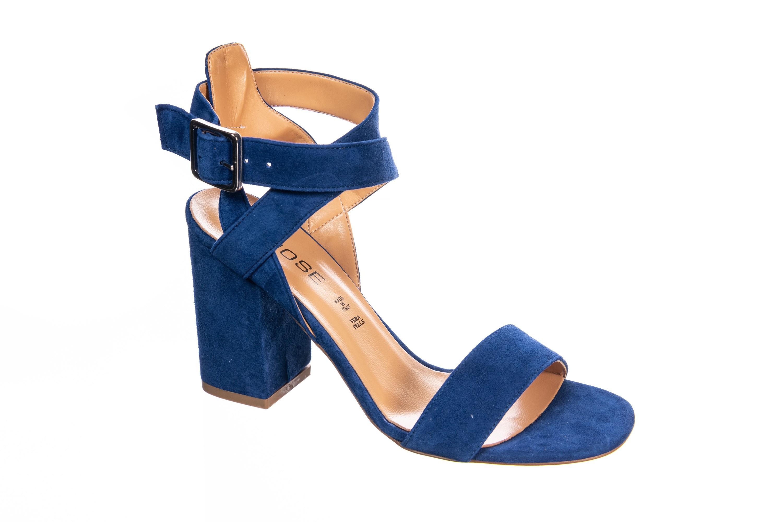 Mettez du bleu à vos pieds cette en sandale femme OSMOSE
