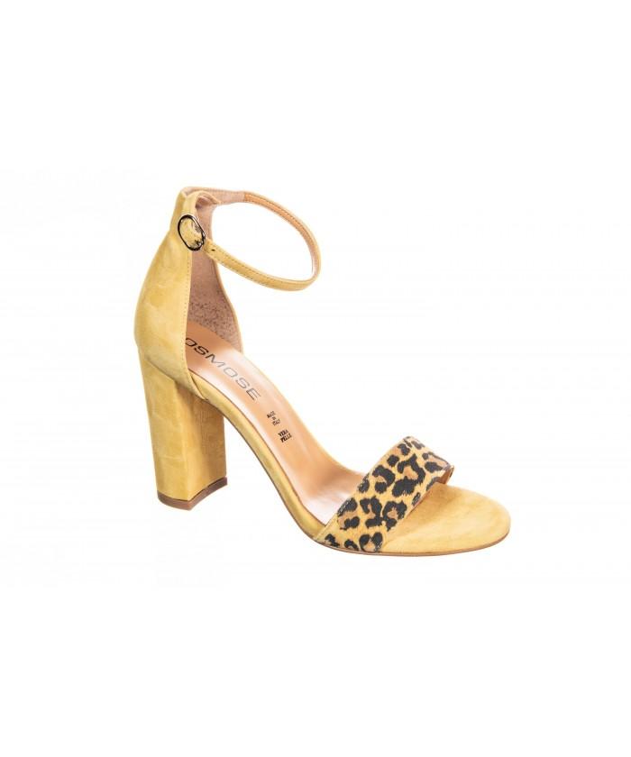 Sandale Ka: Daim leopard Giallo