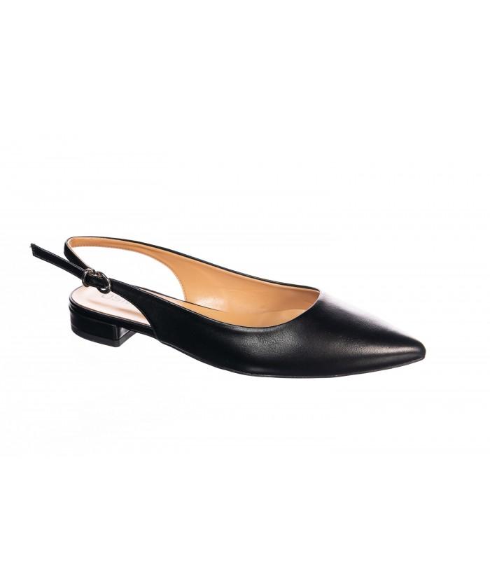 Sandale Taya : Nappa nero