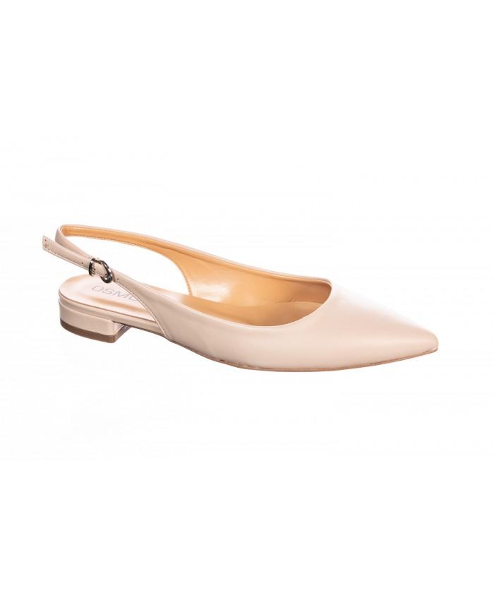 Sandale Taya : Cuir Nude