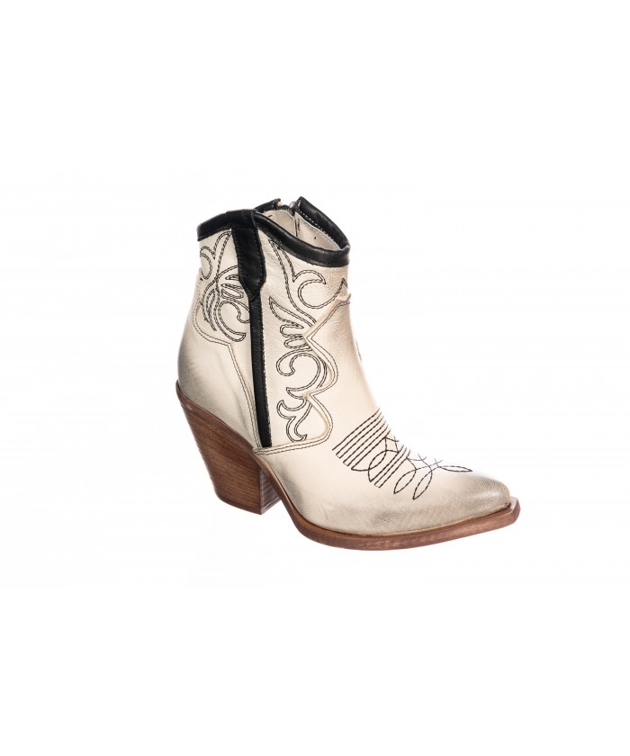 Bottines Tiag blanche