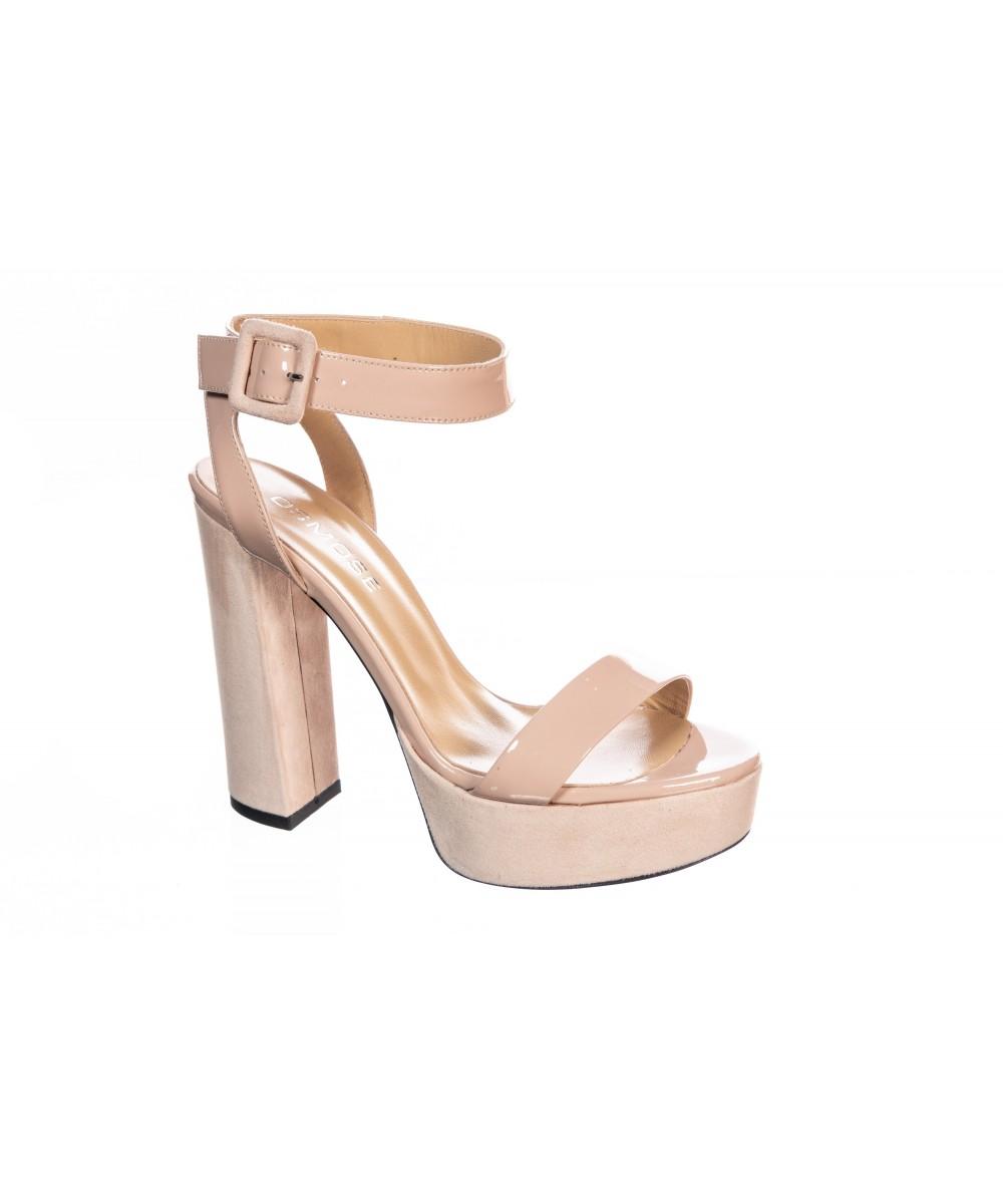 Sandale Vernis Rose