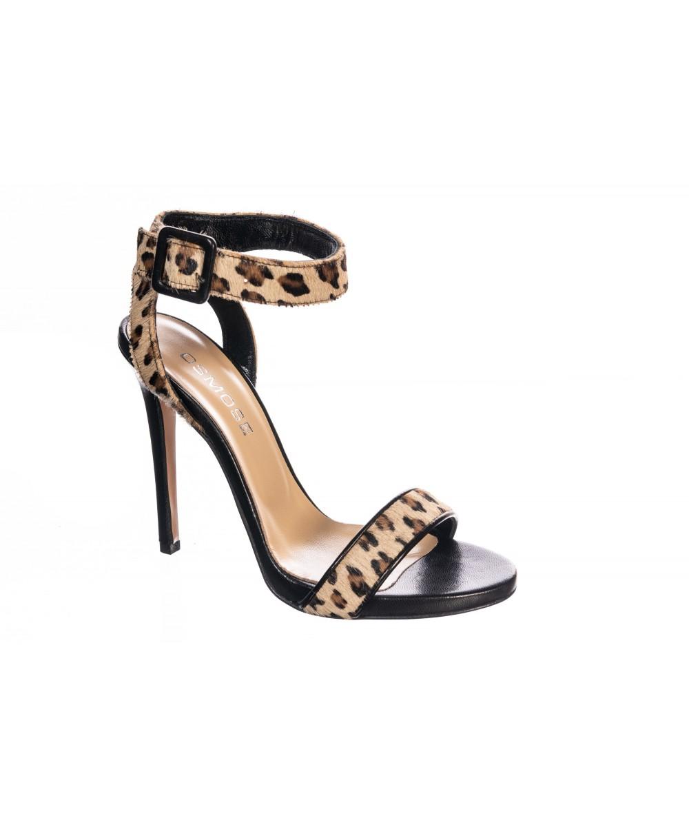 regard détaillé les dernières nouveautés vente chaude authentique Répondez à l'appel de votre féminité sauvage: sandale leopard OSMOSE !
