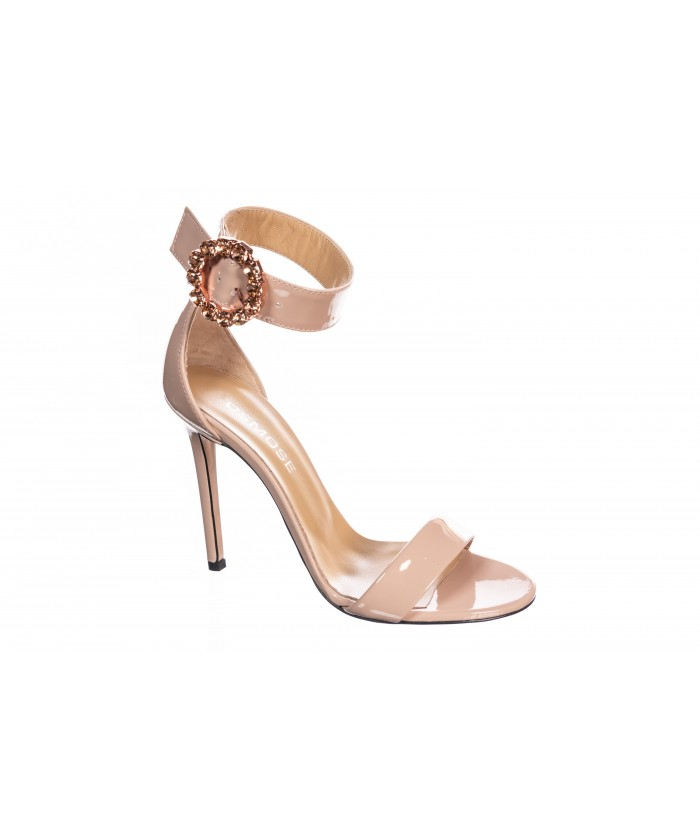 Sandale Vernis Rose Poudré
