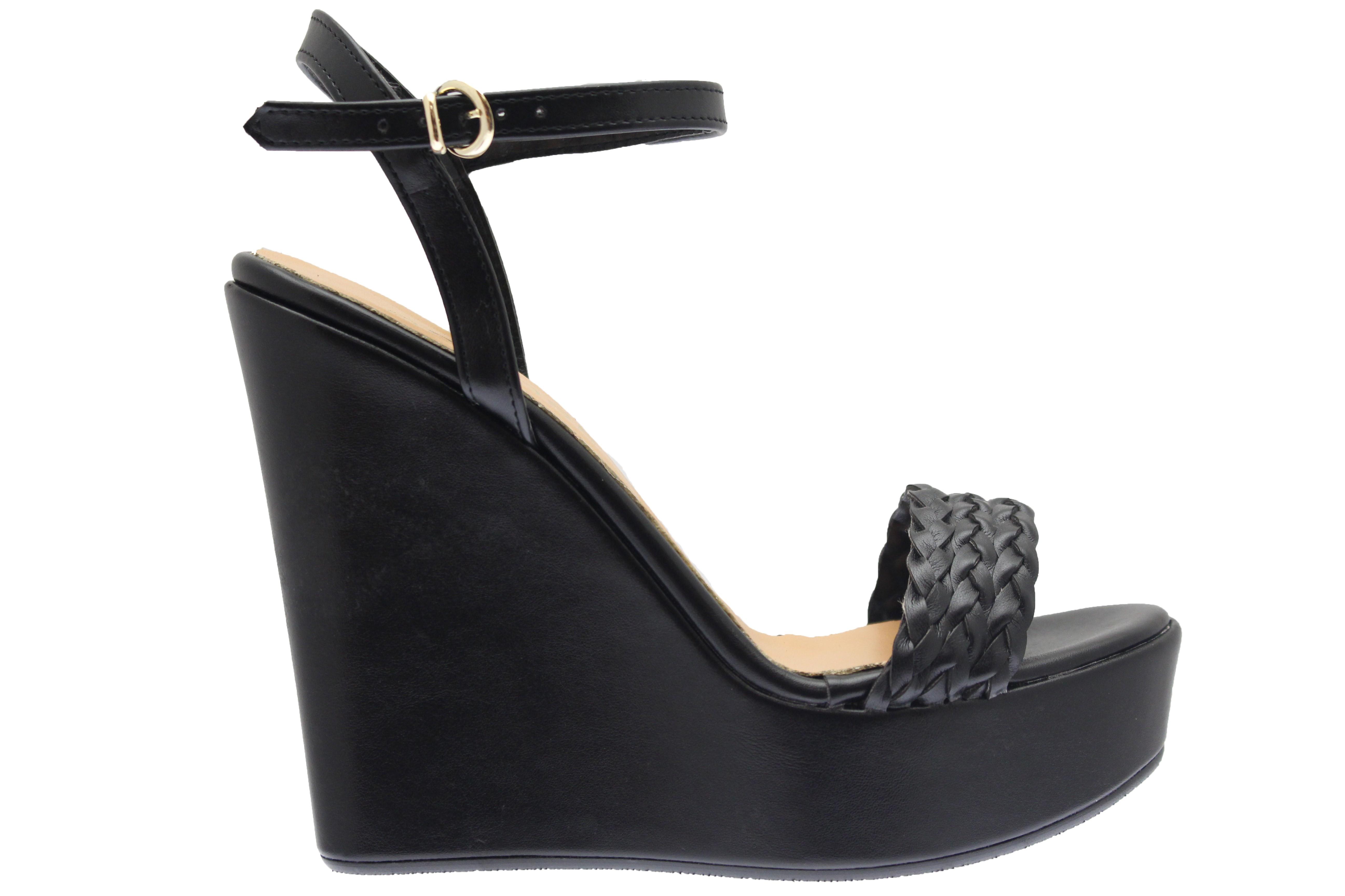 f255636781af Classe & élégance même en compensée femme signée OSMOSE shoes paris