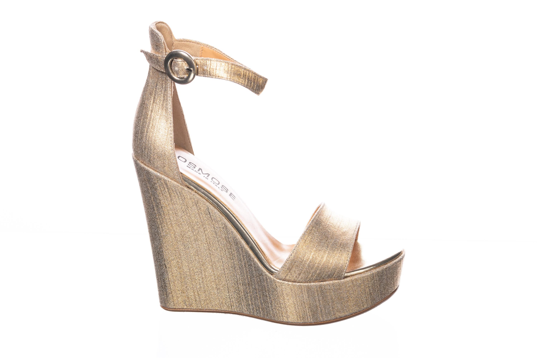 Shoeser Les Est Plus Compensée Belles L'or Sandales Il De Or Osmose KJF1c3Tl
