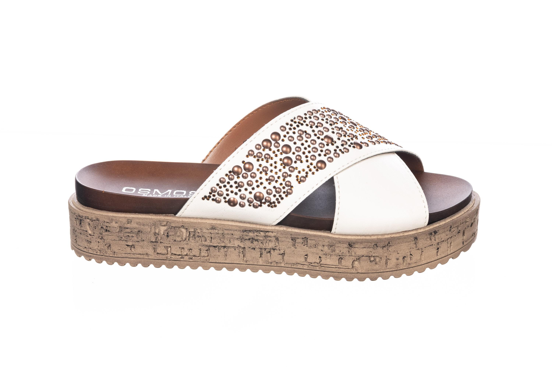 Une Have Blanc De Sandale Plate Ligne Must Couleur Féminine Le Sur bfvYy67g