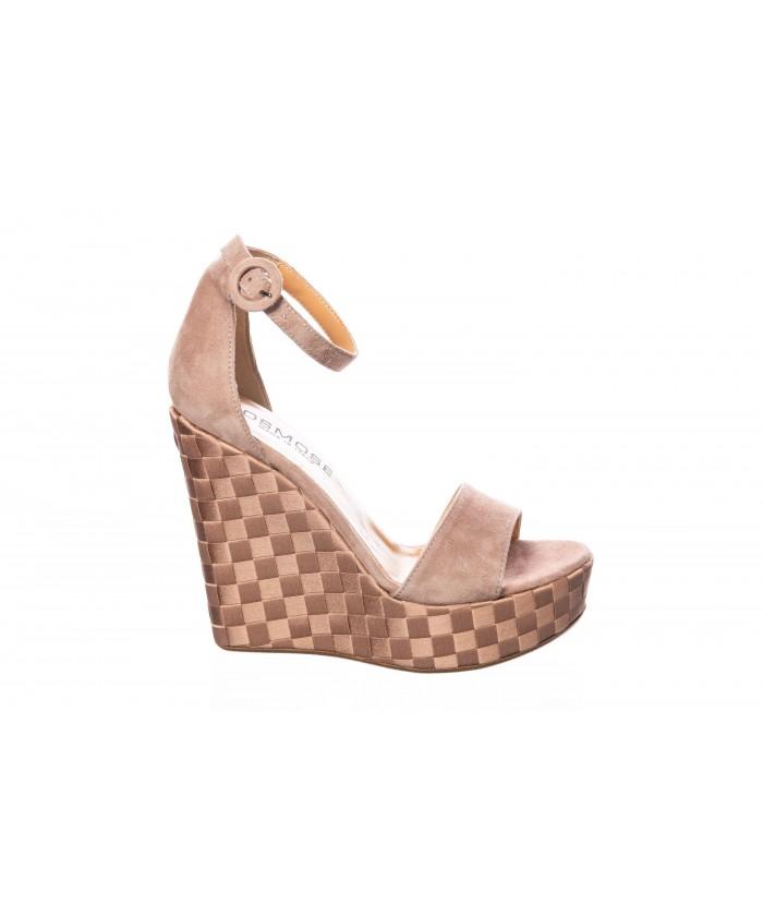Sandale : Daim Nude