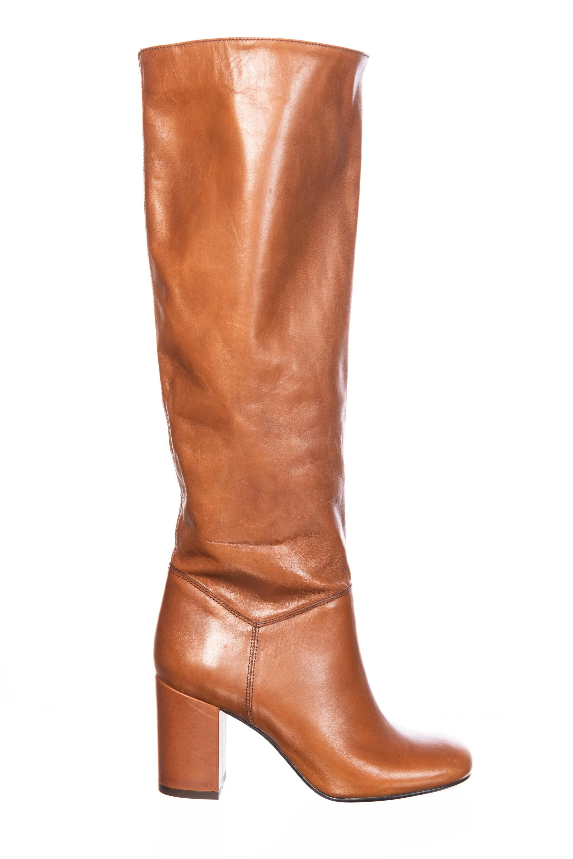boots bottes camel cuir