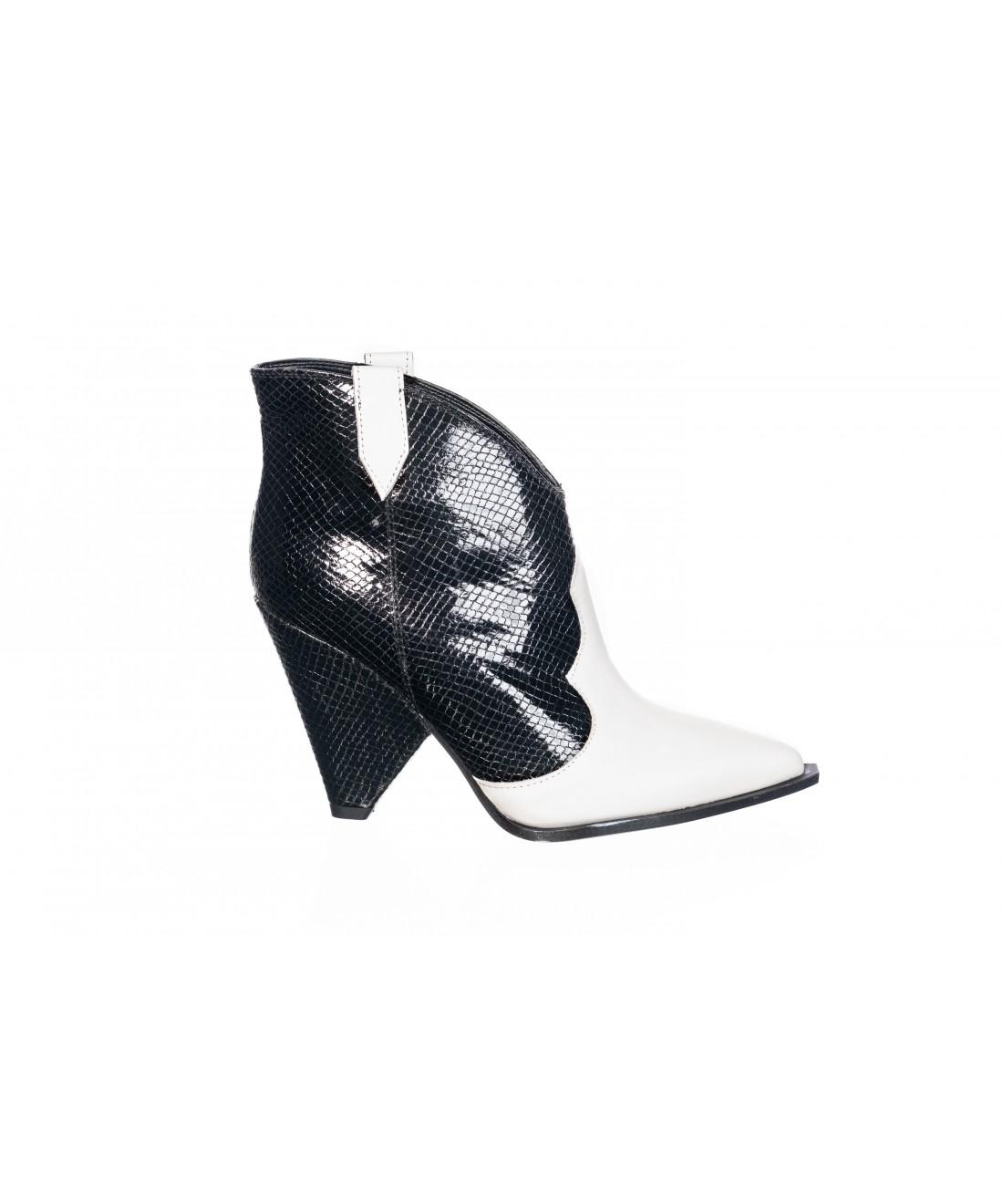 chi boots santiags blackwhite en signée La touche western n0NwXZO8Pk