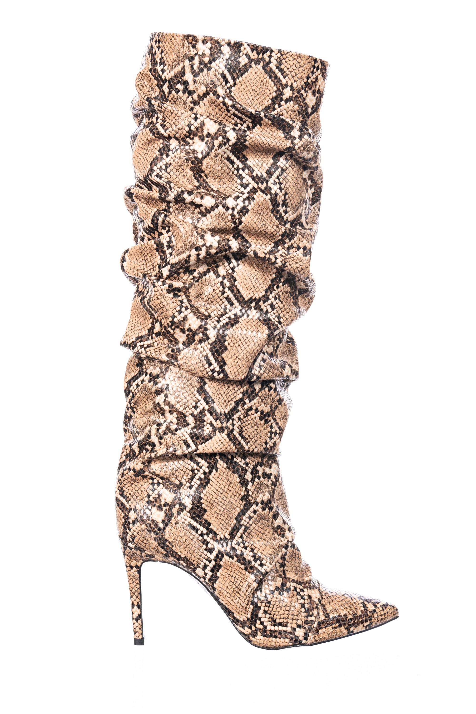 Sauvage chic & plissée sur la nouvelle botte OSMOSE Shoes