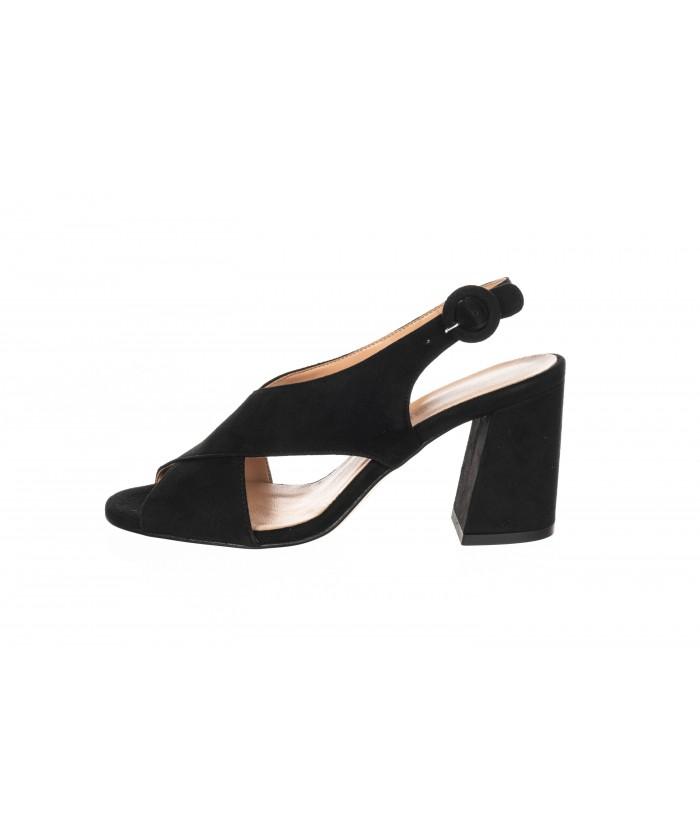 Sandale Daim Noir