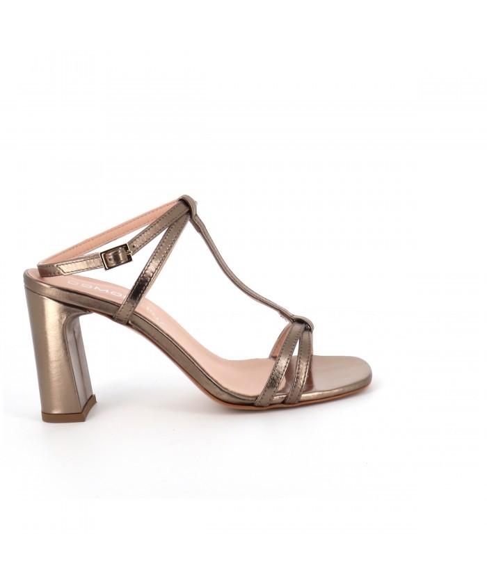 Sandale Noëlla cuir bronze...