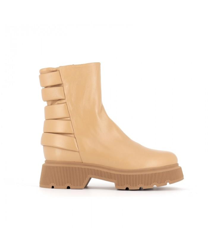 Boots Kenya72 Cuir Camel